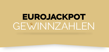 Logo Eurojackpot-Gewinnzahlen